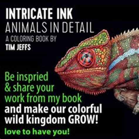libro intricate ink animals in 1000 images about tim jeffs work in progress on