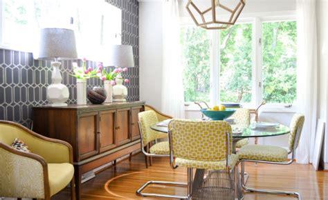 mid century modern design dining room ideas