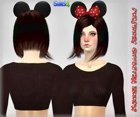 jenni sims new mesh accessory sets bow heart breaker jenni sims new mesh accessory hair minnie headband sims