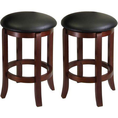 solid wood swivel bar stools solid wood swivel counter stools walnut black set of 2