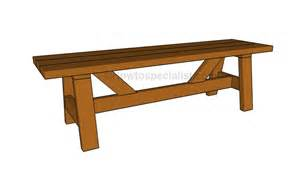 design benches how to build a simple bench howtospecialist how to