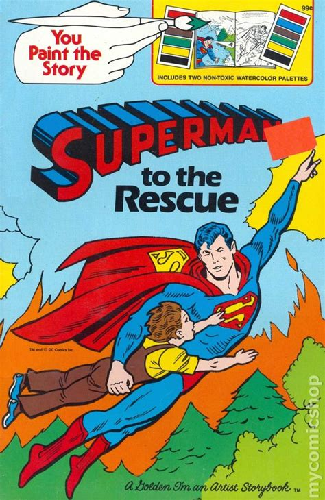 from superman to books superman to the rescue golden book 1980 comic books