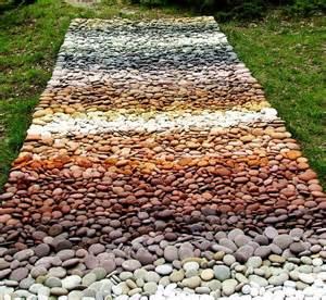 Stones colors natures carpet mosaic hard as a rock pinterest