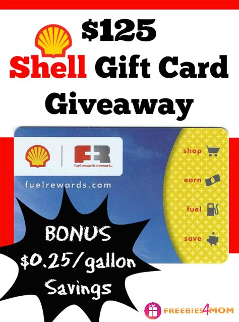 Shell Gift Card Discount - 125 shell gift card giveaway win free fuel