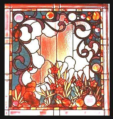 bleiverglasung jugendstil nouveau stained glass my