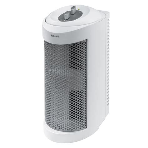 holmes allergen remover air purifier mini tower  true