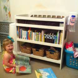changing table bookcase 1000 ideas about changing table storage on
