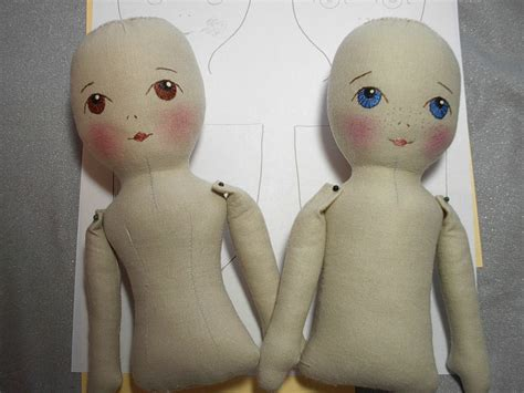 fabric doll template fashion by prairie flowers an original cloth doll