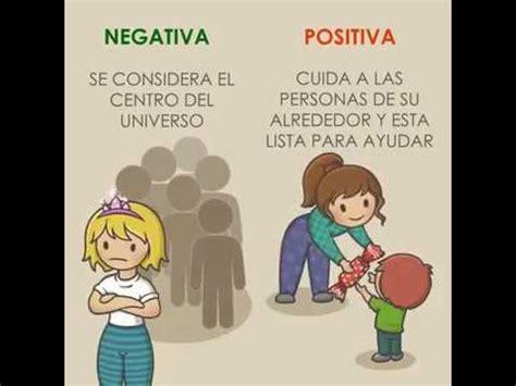 imagenes positivas animadas personas negativas vs personas positivas youtube