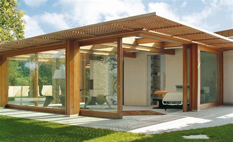 costruzione verande veranda glazing pavilion by capoferri serramenti