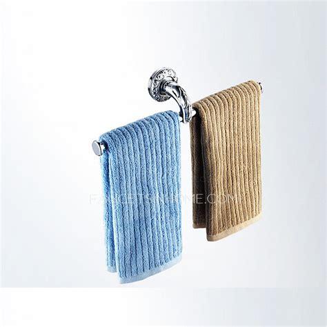 unique european style chrome brass double towel bars
