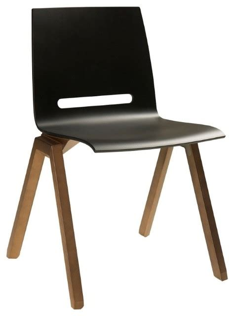 Modern Black Chair by Forum Dining Chair Black Modern Dining Chairs By Elte