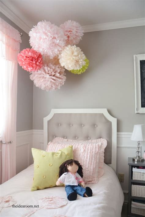 Bedroom Decorating Ideas Step By Step Tissue Paper Pom Poms Tutorial The Idea Room New