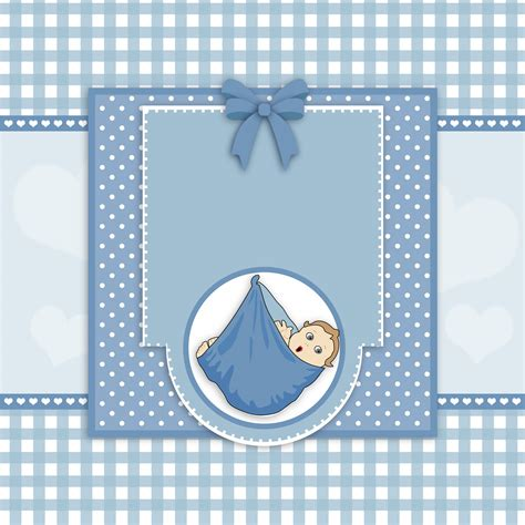 Template Baby Boy Card by Baby Boy Card Free Stock Photo Domain Pictures