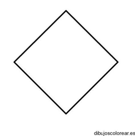 figuras geometricas un rombo dibujo de un rombo