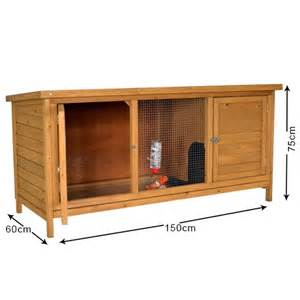 The Hutch The Summerhouse 5ft Rabbit Hutch All Hutches Outdoor