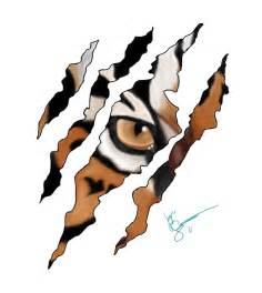 tiger scratch tattoo tiger scratch 2 by maineac92 on deviantart beauty is as beauty does pinterest tigers