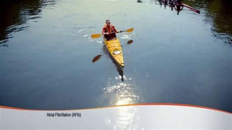 who is the kayaker in the eliquis commercial eliquis tv commercial kayaker ispot tv
