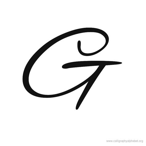 fancy ways to write the letter g about the letter gmore