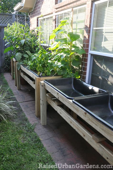 A Raised Garden Bed by A Raised Garden For A Friend Small Spaces Work Raised
