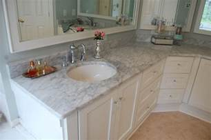 bathroom vanity countertop ideas bahtroom fresh flower decor beside sink tiny