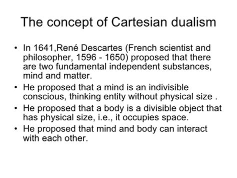 descartes mind and matter what is consciousness