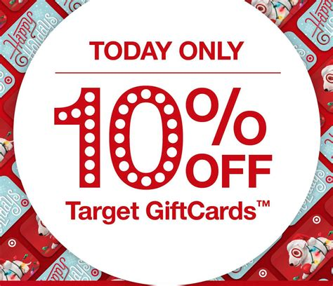 Where Can I Use A Target Visa Gift Card - target gift cards for 10 off today only