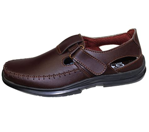 mens walking summer sandals driving loafers casual