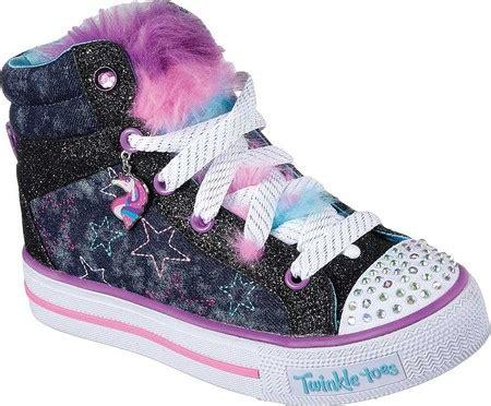 Skechers Unicorn by Skechers Twinkle Toes Shuffles Unicorn High Top