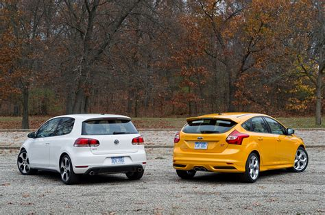 opel ford ford focus st vs opel astra opc 2012