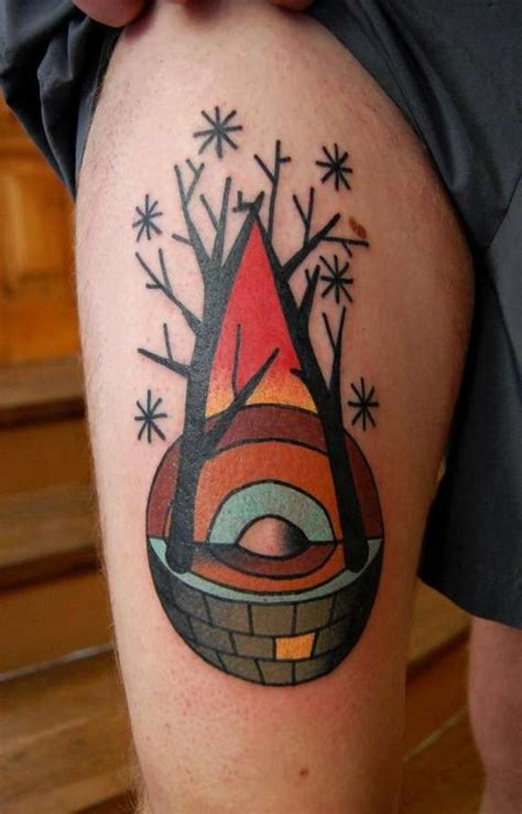 sphere tattoo designs sectioned sphere abstract character tattoos