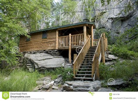Cabins In South Dakota by Cabin In South Dakota Royalty Free Stock Image Image