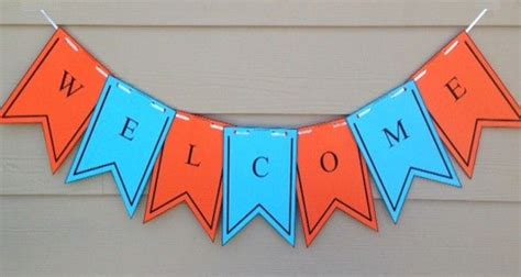 Printable Welcome Banner Template First Day Of School Flag Banner Miscl Pinterest Welcome Free Printable Welcome Banner Template