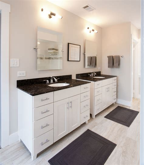 Pasadena bungalow gets updated with a modern master bath