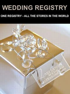 Wedding Registry Combine by Luxurious Wedding Style Report