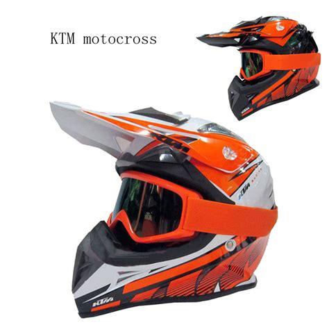 Ktm Dirt Bike Helmets Motorcycle Ktm Helmet With Goggles Motorbike