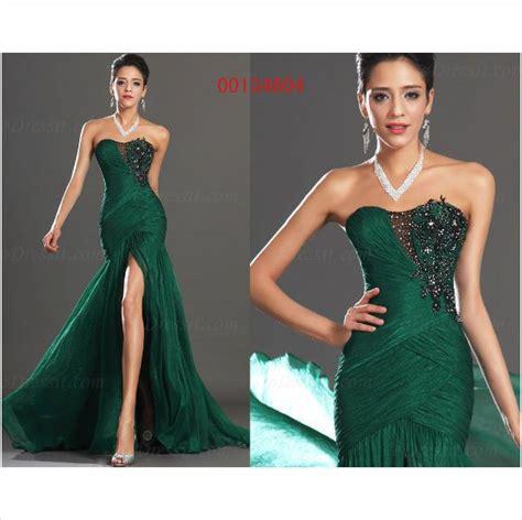 edressit green halter mermaid evening dress prom ball gown edressit hot strapless party ball gown evening dress