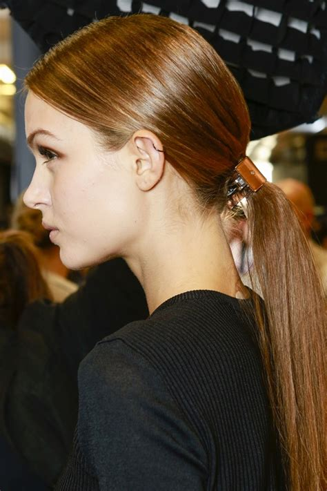 ponytail hairstyles 2013 14 low ponytail hair trend hairstyles trends for summer 14 uk