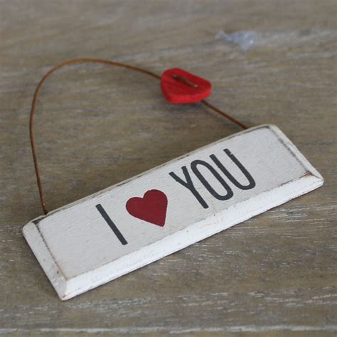 small i love you hanging plaque melody maison 174