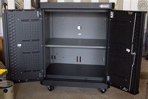 kobalt cabinet assembly and easy paint storage garage organization the