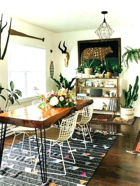 stylish bohemian dining room bohemian bohemianstyle