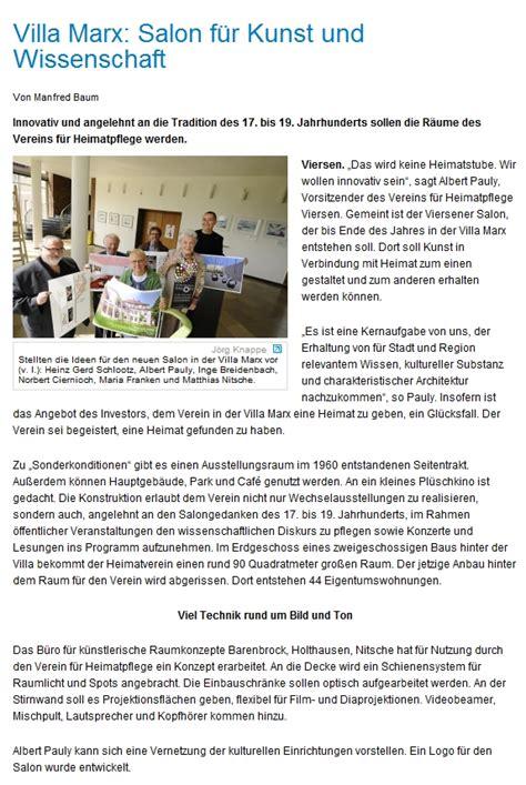 Villa V Viersen by Viersener Salon Presse