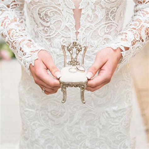 Wedding Ring Holder Design by Miniature Chair Wedding Ring Jewelry Holder Cake
