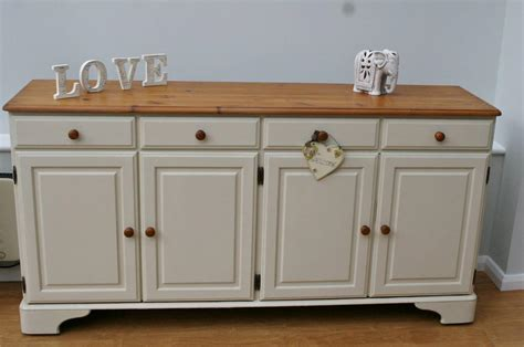 stunning large shabby chic sideboard ducal pine ebay