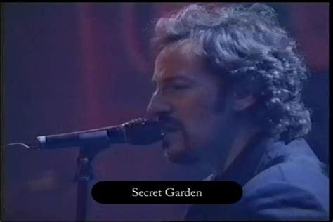 Bruce Springsteen Secret Garden Lyrics by Bruce Springsteen Lyrics Secret Garden Live 05 Apr 1995