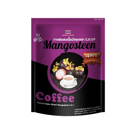 Mango 4in1 instant coffee mixed mangosteen 4in1 cjcup 160g 泰国草本