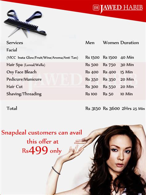 haircut deals in pune jawed habib haircut rates in delhi haircuts models ideas