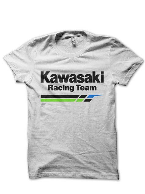 Kawasaki Racing Tshirt kawasaki racing team t shirt swag shirts