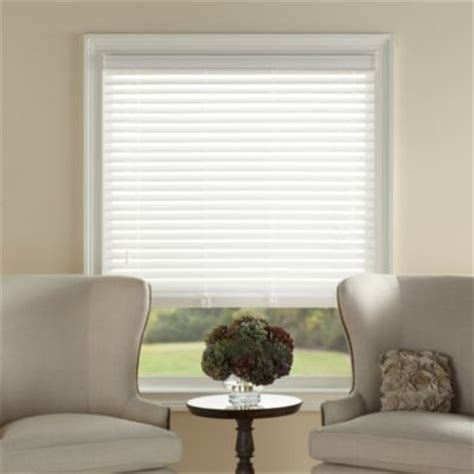 bed bath and beyond window blinds kirsch white faux wood blind contemporary window