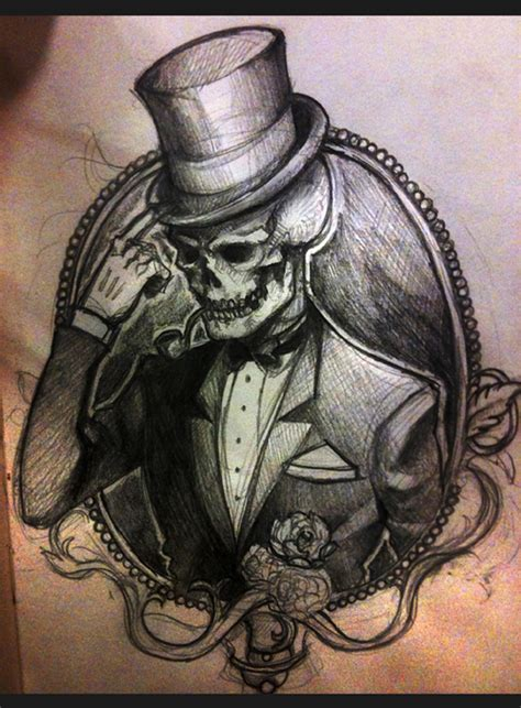 dapper skeleton by minyi on deviantart